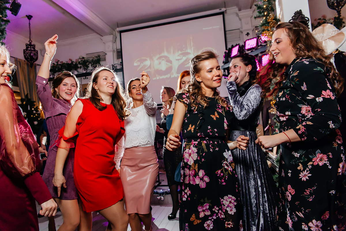 Фото-отчет с новогоднего корпоратива 20.12.19